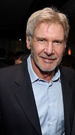 Harrison Ford (not dressed as a pea pod)