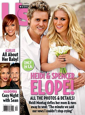 Heidi and Spencer on Cover of US Magazine