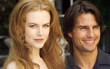 Kidman and Cruise while married