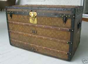 Louis Vitton Vintage Steamer Trunk